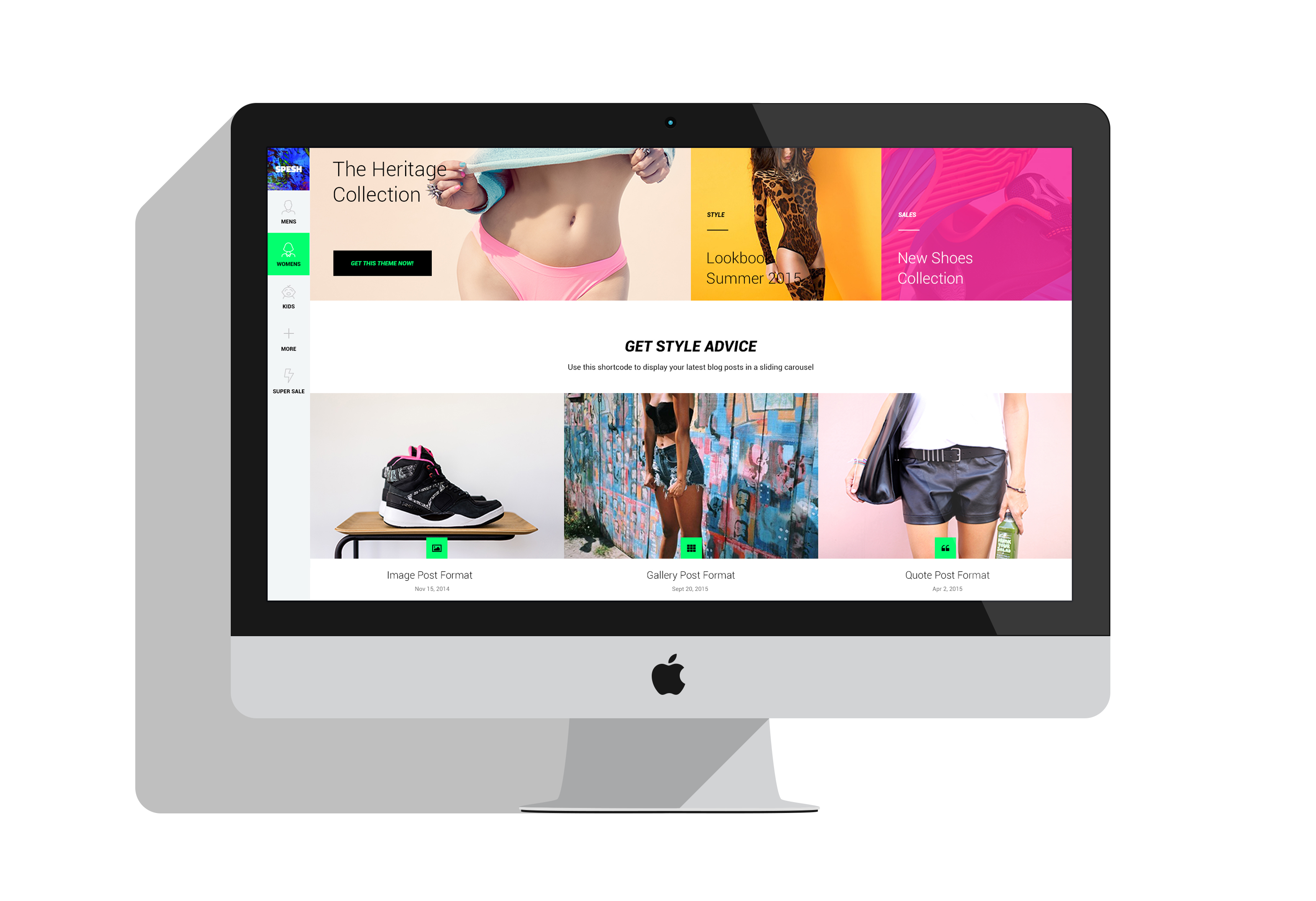 Spesh | Responsive eCommerce HTML Template